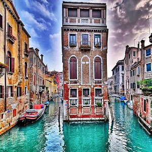 Beautiful Venice Italy Walk