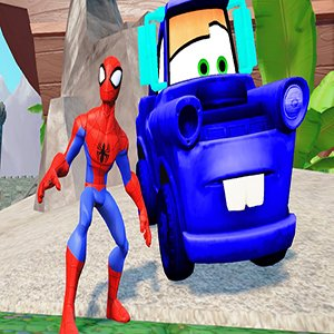 Cartoon Heroes Jigsaw Game