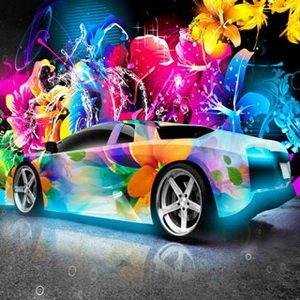 Colorful Lamborghini
