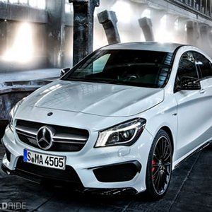 Crazy Mercedes Benz Car