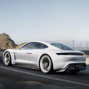 Porsche Riding On Hills