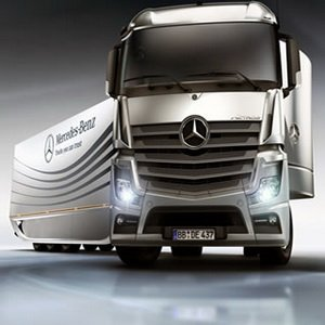 Really Fast Mercedes Truck
