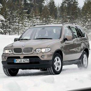 Snow Ride With BMW Car