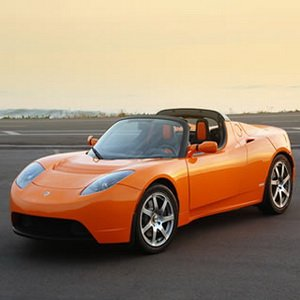 Tesla Roadster Car Game